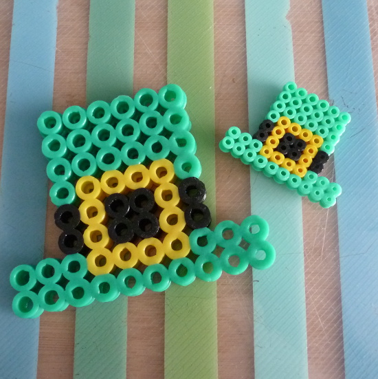 Saint Patrick's Perler beads designs patterns to make