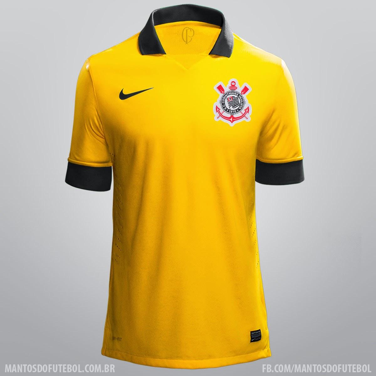 rumores) Corinthians 2014  nike  - Terceiro Uniforme  fe56a90ae8d2a