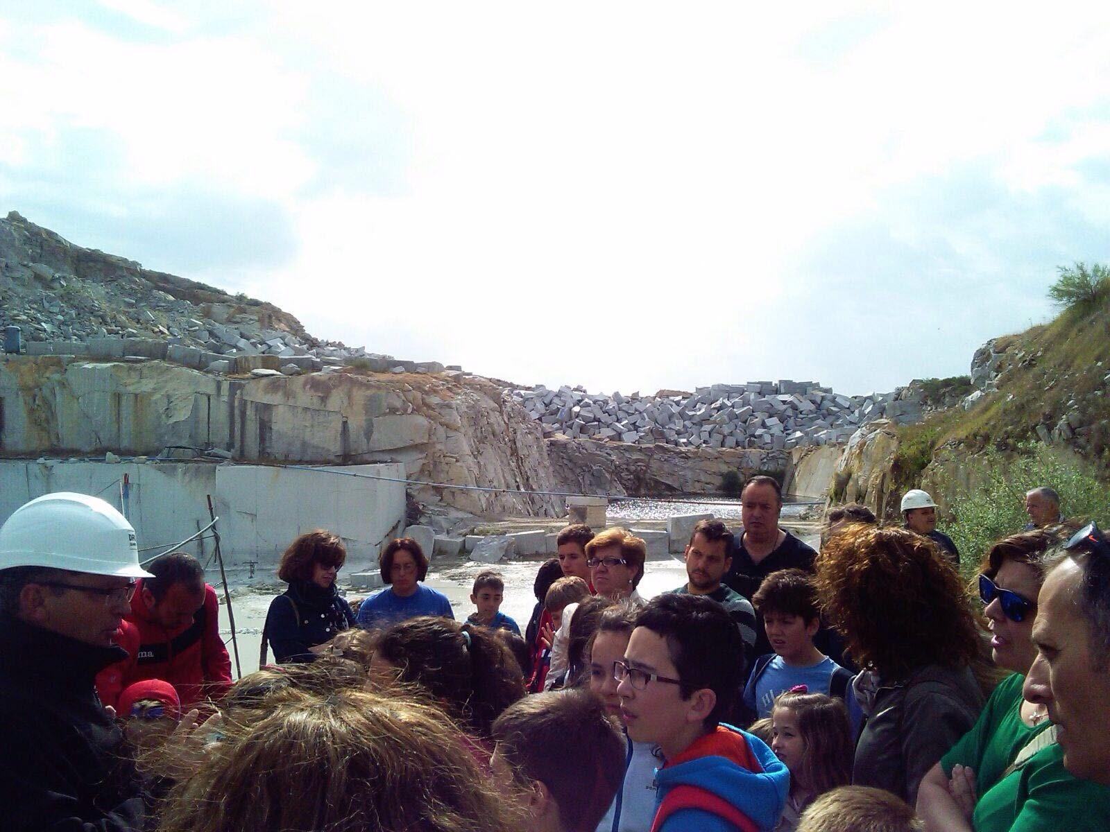 El blog de cumplasa semana cultural visita a la cantera - Granito en espana ...
