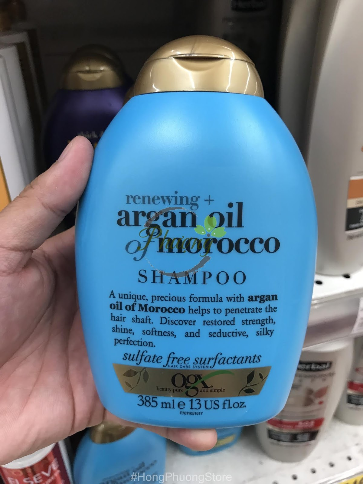 DẦU GỘI OGX RENEWING ARGAN OIL OF MORROCO SHAMPOO