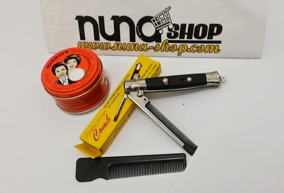 Paket Hemat Pomade Murray's Superior + Switchblade Comb