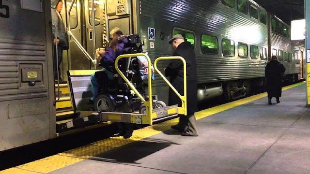 Transporte para deficientes físicos em Chicago