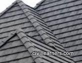 Flat tiles types