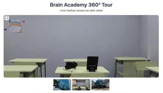 fasilitas kelas brain academy
