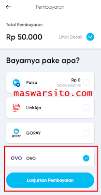 cara isi paket data by U