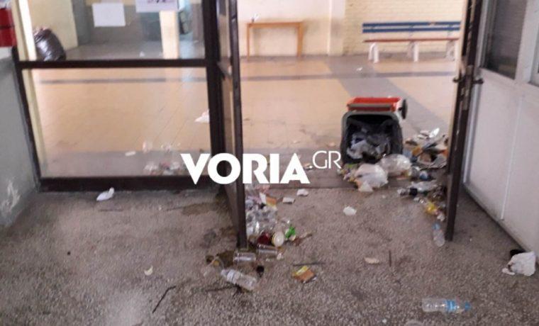 Θεσσαλονίκη : Εικόνες ντροπής στο ΤΕΙ – Φοιτητές πηγαίνουν να γράψουν και κρατούν την αναπνοή τους