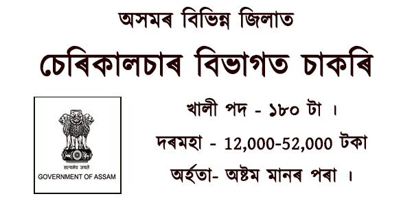 Sericulture Jobs in Assam 2021