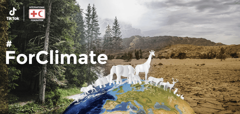Join the TikTok #ForClimate challenge