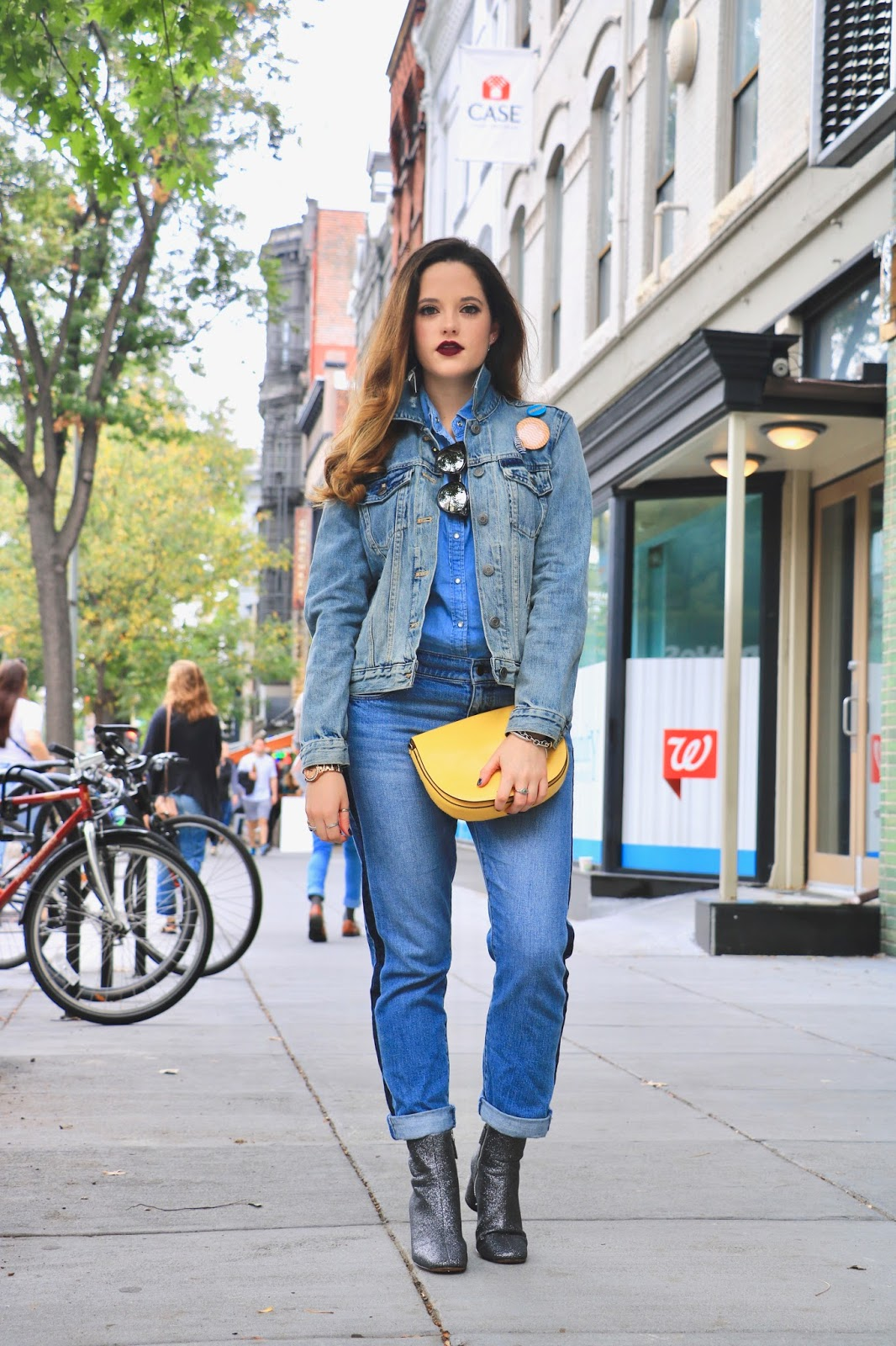 Nyc fashion blogger Kathleen Harper's fall outfit ideas
