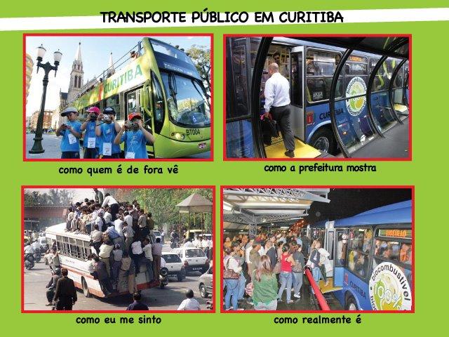 Como é o sistema de transporte de Curitiba : a verdade