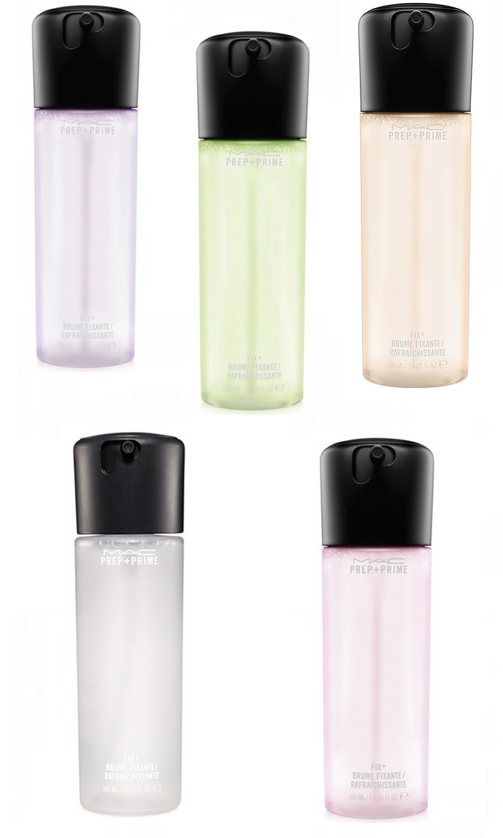 NEW! MAC Prep + Prime Fix+ Coconut - Yuzu - Rose - Cucumber - Lavander