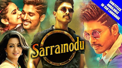 Sarrainodu 2017 Hindi Dubbed WEBRip 480p 350mb