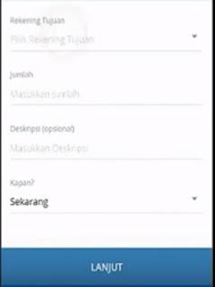 Gambar 4 cara Transfer pakai mandiri online