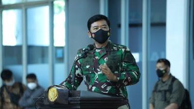 Panglima TNI : Serbuan Vaksinasi, TNI-Polri Terus Bergerak Percepat Pencapaian Herd Immunity