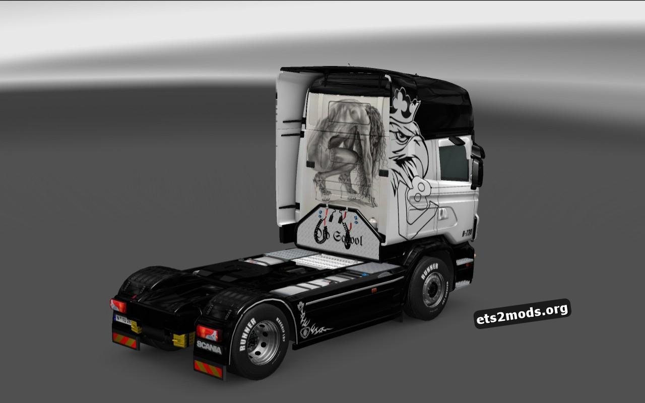 Scania RJL Skin Requiem For A Dream