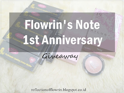 Flowrin's Note 1st Giveaway Announcement