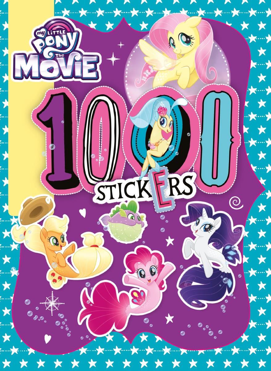 Mlp The Movie 1000 Sticker Activity Book Media Merch Books My Pretty Pink Little Pony
