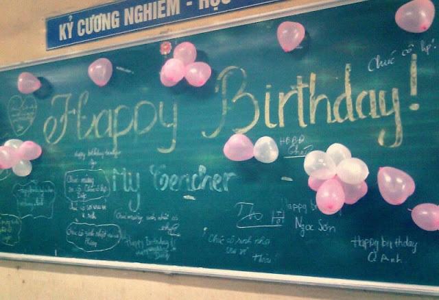 Birthday Wishes For Chemistry Teacher