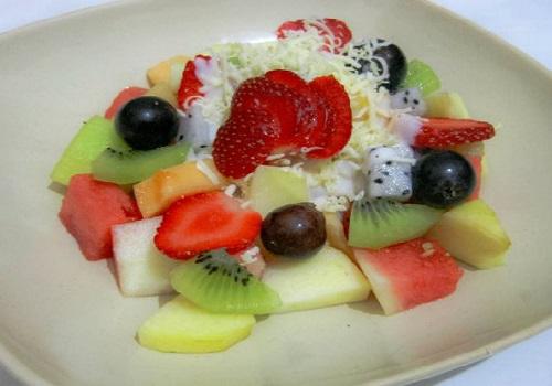 Resep Food Praktis Resep Salad Buah Segar With Cheese Mayo