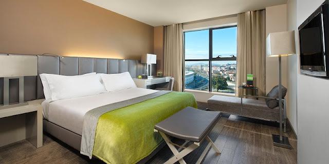 Dicas de hotéis em Braga: quarto com vista