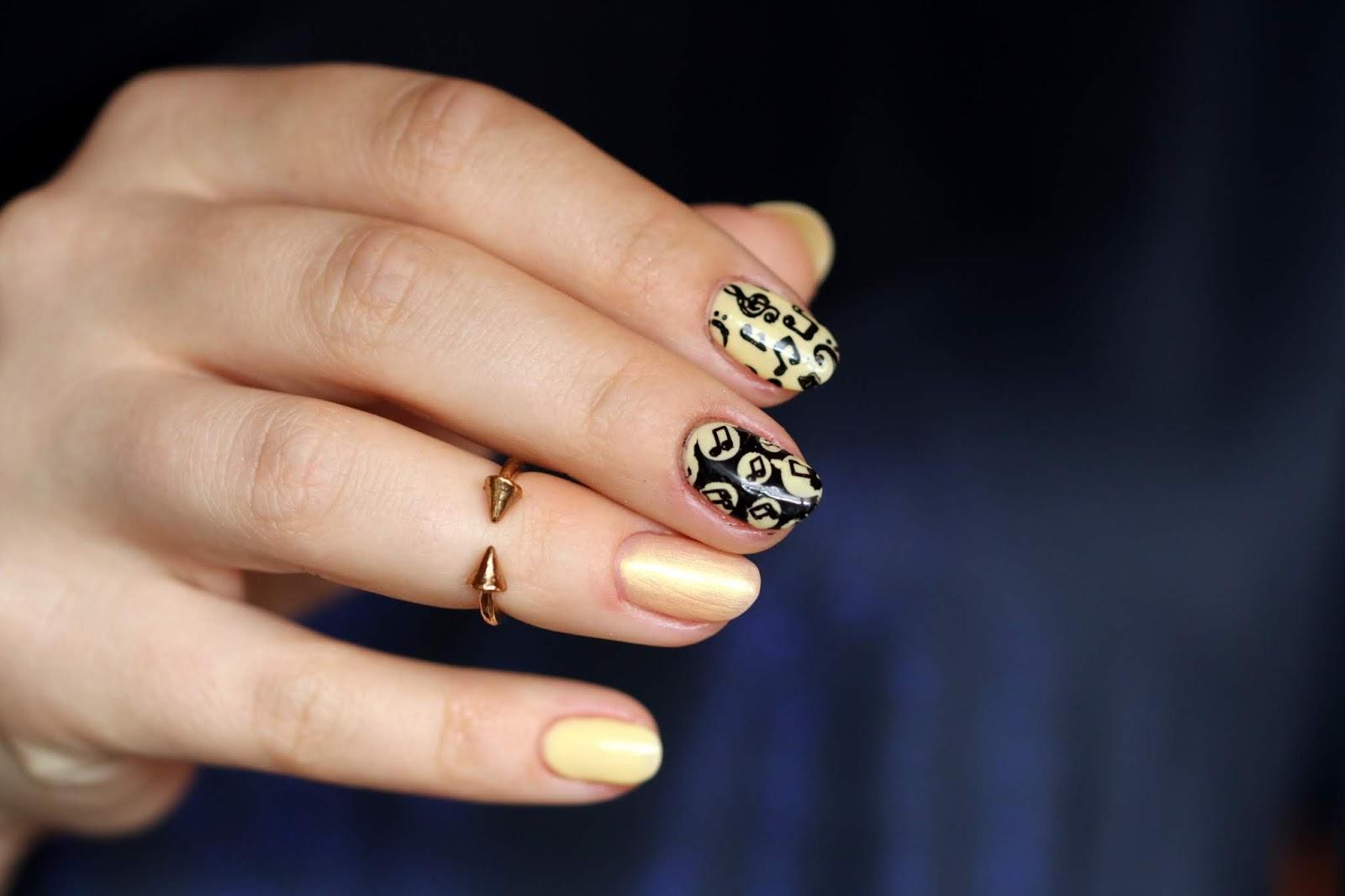 Zolto Muzycznie Elisium Manicure Hybrydowy Iliz Beauty