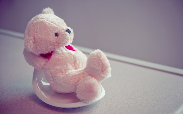 cute teddy day image