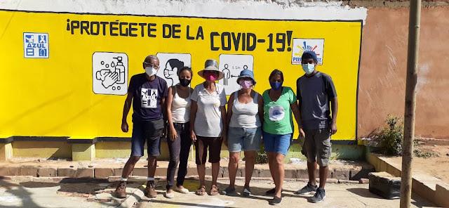 Murales Informativos Sobre la COVID-19