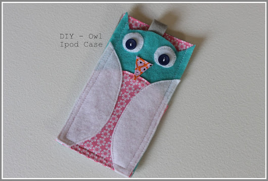 Tutorial - Owl Case For iPod Touch
