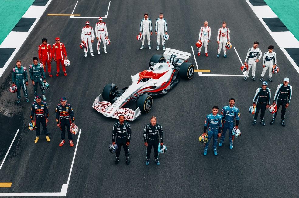 F1 apresenta de forma oficial o carro da temporada 2022
