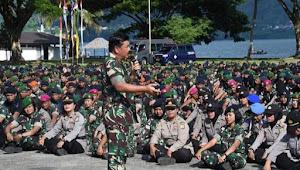 Panglima TNI : Kesetiaan Kepada NKRI Bentuk Nyata Sinergi TNI-Polri