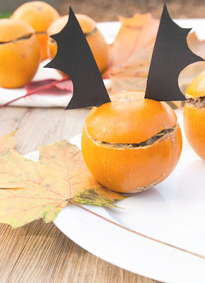 Halloween : pommes d'or farcies
