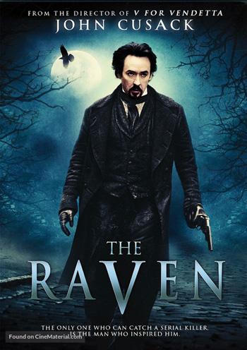 The Raven 2012 Dual Audio ORG Hindi 720p BluRay 800MB DD5.1Ch ESubs poster