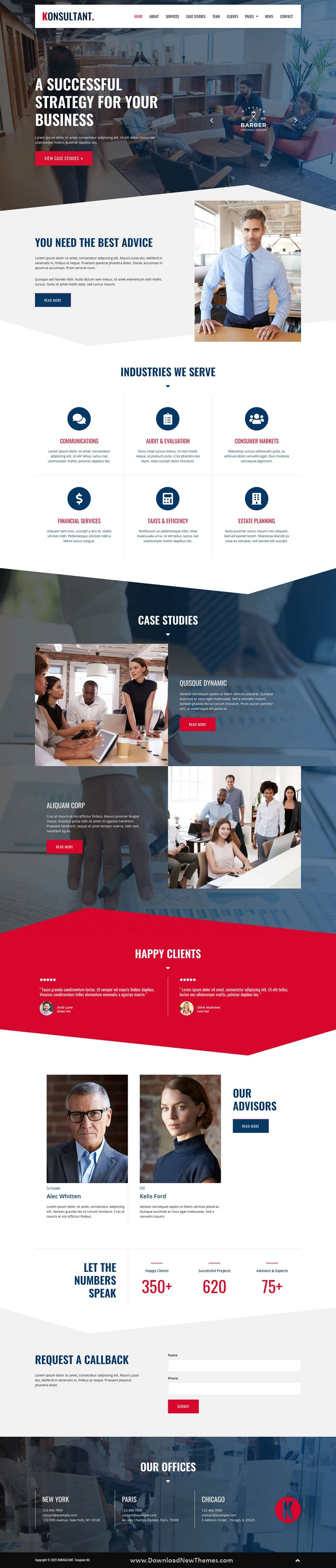 Consultancy Firm Elementor Template Kit