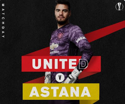 Liga Europa, Manchester United vs Astana di Vidio
