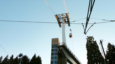 Portland Aerial Tram Oregon