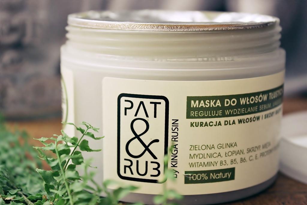 Maska do włosów tłustych Pat&Rub