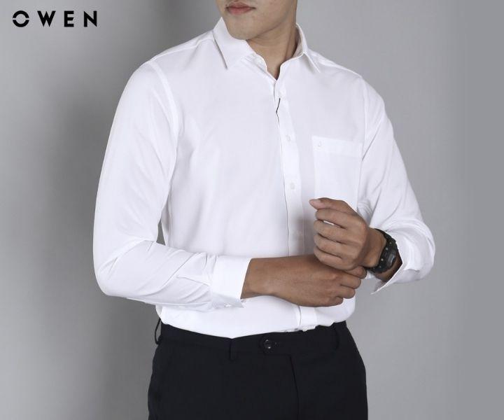 Áo sơ mi nam dài tay Owen - Form Regular fit