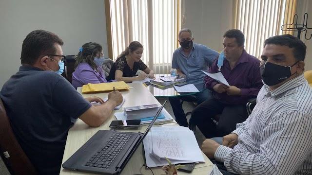 Executivo e Legislativo municipais se reúnem para tratar das emendas impositivas