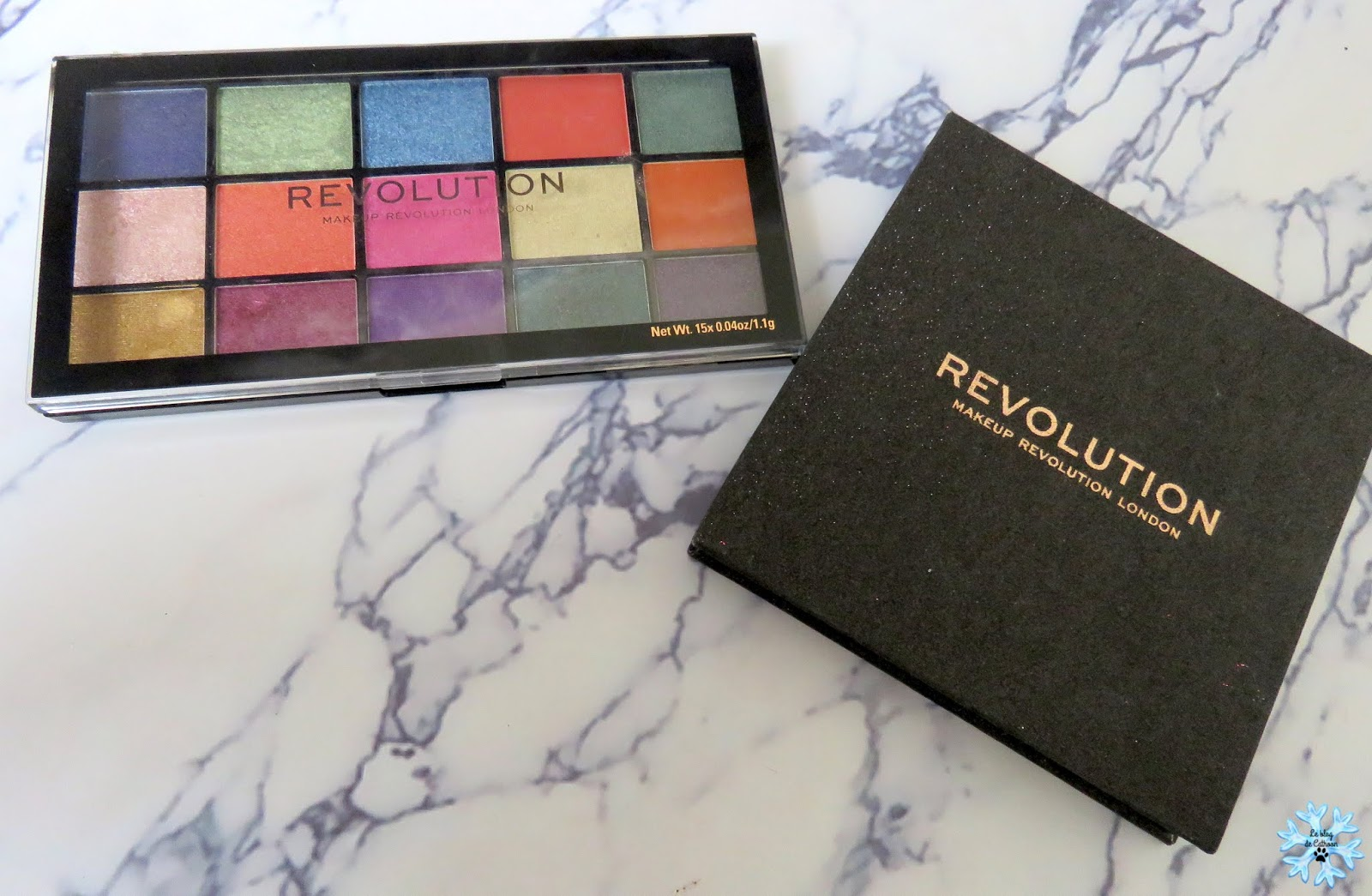 palette maquillage make up revolution