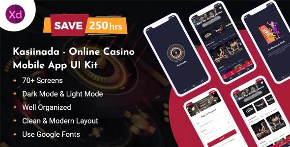 Best Online Casino Mobile App UI Kit