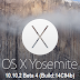 Download OS X 10.10.2 Yosemite Beta 4 (14C94b) Combo / Delta .DMG File via Direct Links