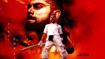 Virat Kohli Wallpaper Poster