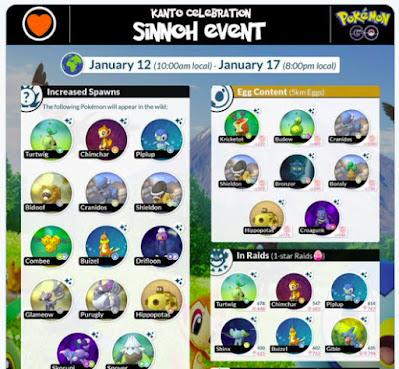 Pokémon GO holds a new Shinnoh event