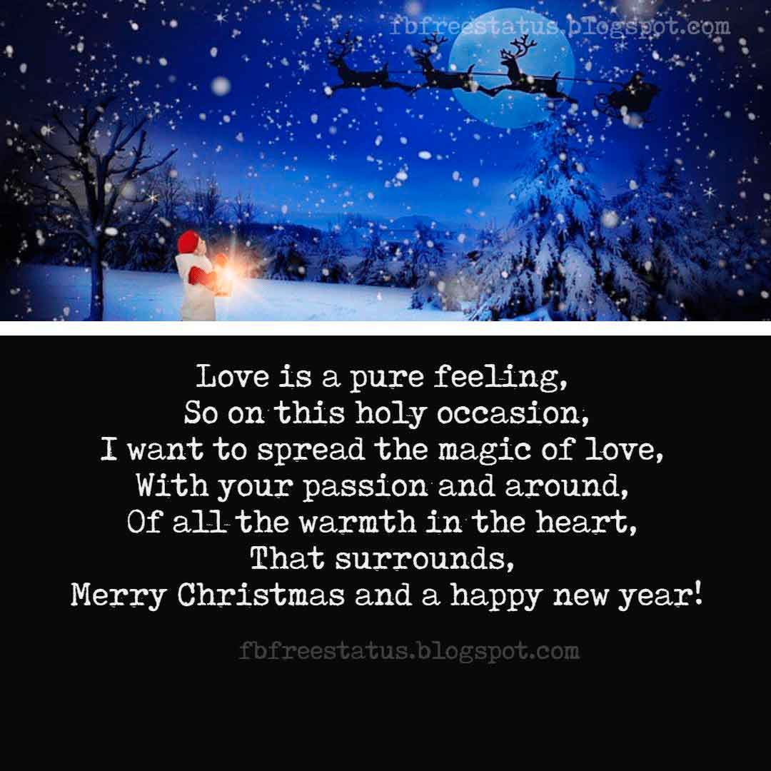 Christmas Love Wishes and Quotes, Messages