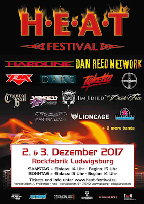 FM at H.E.A.T. festival - 3 December 2017 - poster