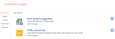 membuat featured post pada sidebar blog