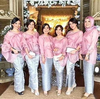Model Baju Kebaya Seragam Pernikahan Murah Tapi Glamour