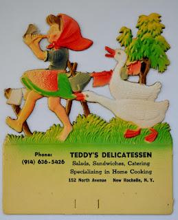 Calendar Illustration for Teddy's Deli / c. 1960s