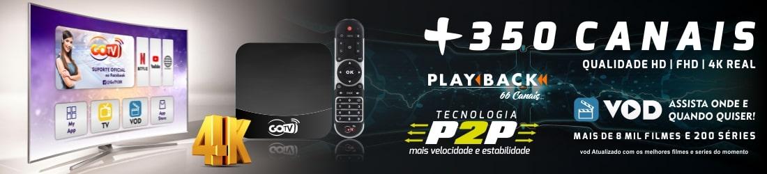 Lançamento! GOTV - Um novo conceito em receptor IPTV!