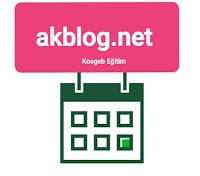 Kosgeb Girişimcilik Eğitim Sertifikası